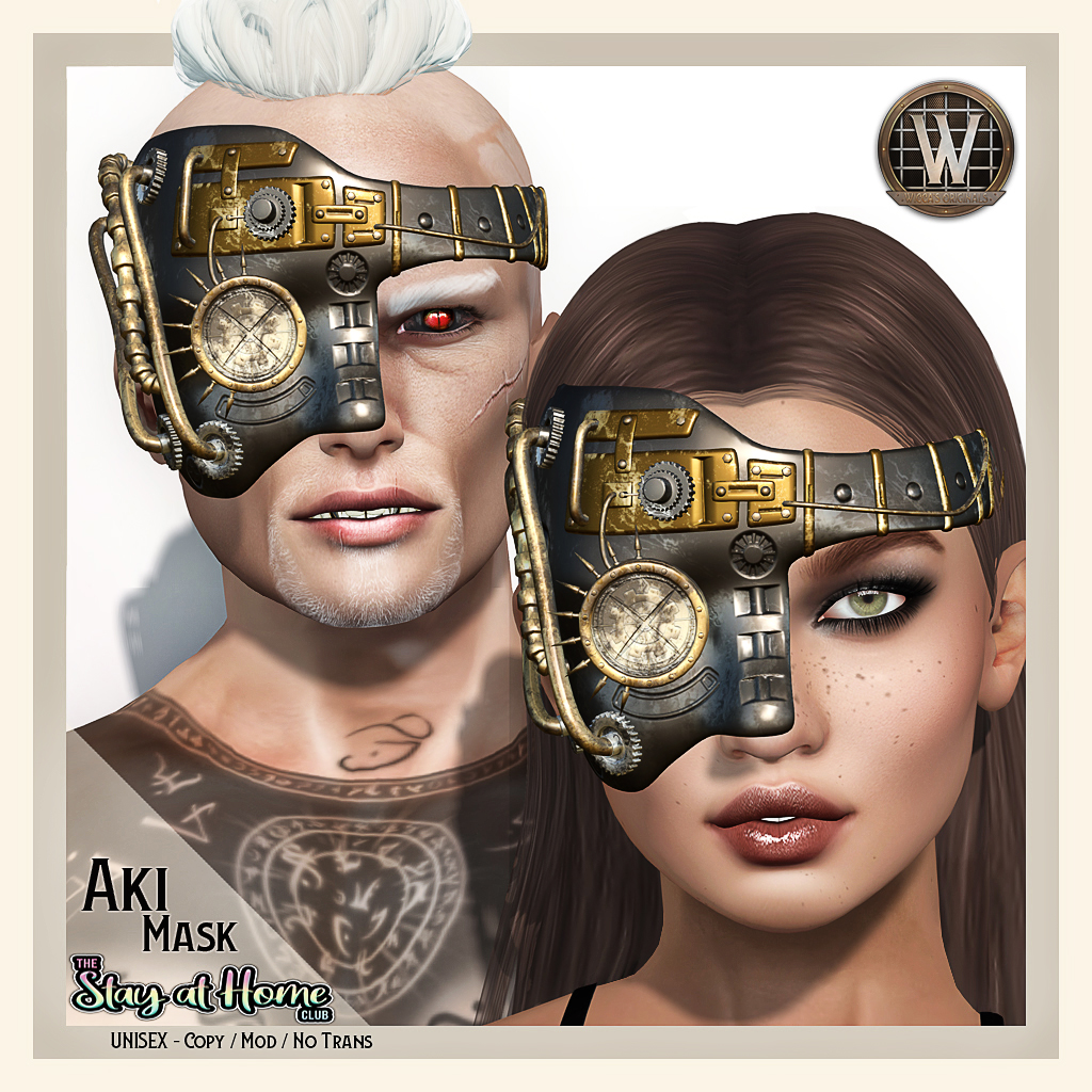 Wicca's Originals - Aki Mask Unisex
