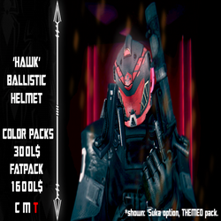 [_ARAKNYD_] (_Suka) Hawk Helmet Advert