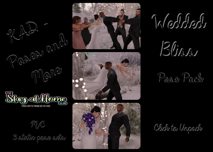 KAD Poses - Wedding Bliss Pose Pack