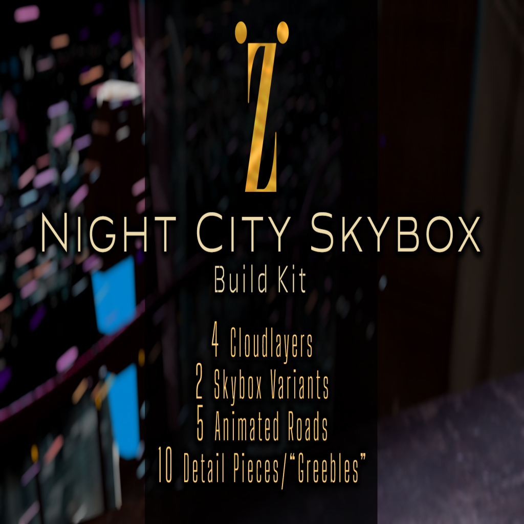 [inZoxi] - Night City Skybox Buildkit VE