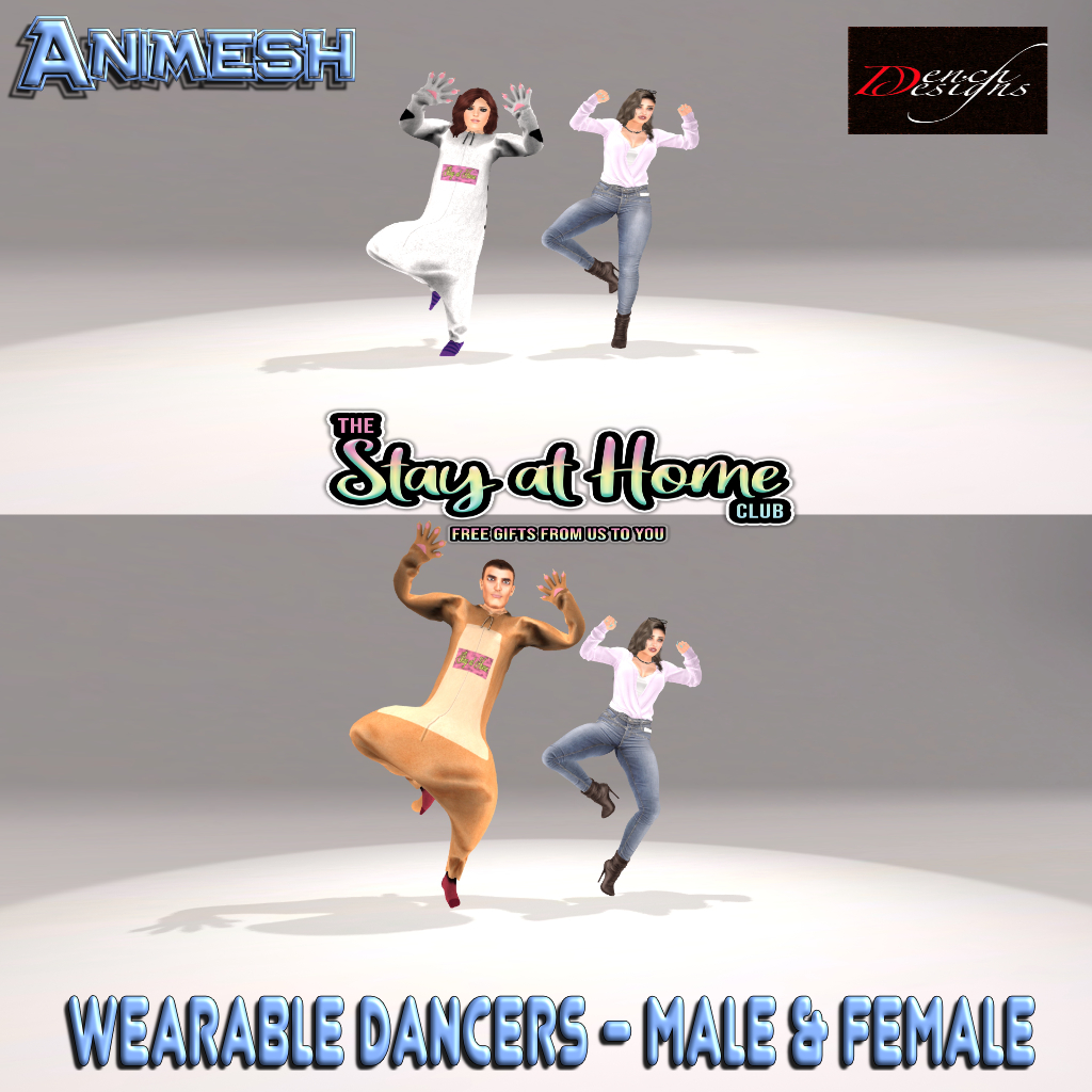 Dench Designs - Wearable Dancers Animesh