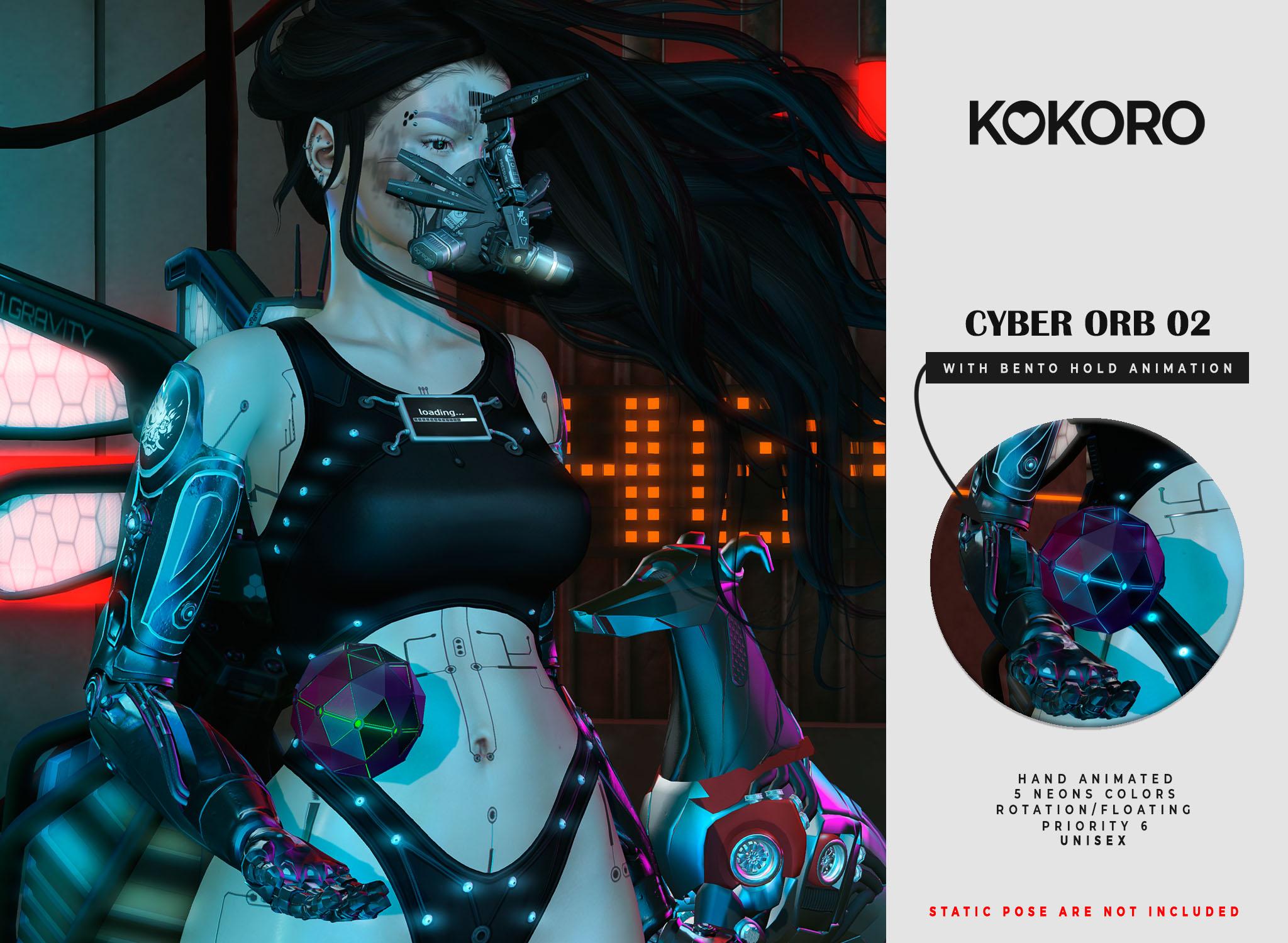 Kokoro - Cyber Orb 02 Animation AD[3936]