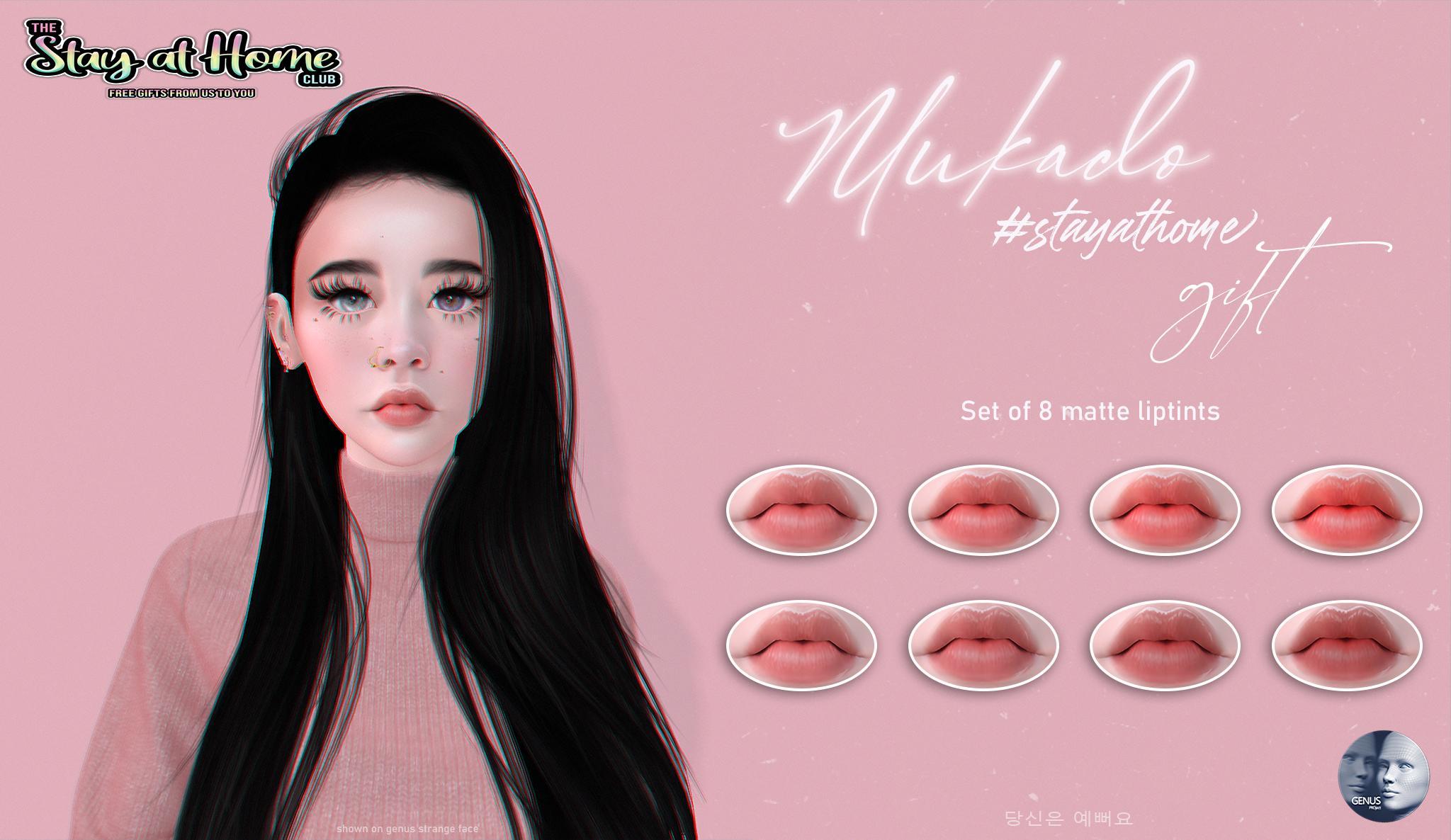Mukado - 8 liptints gift
