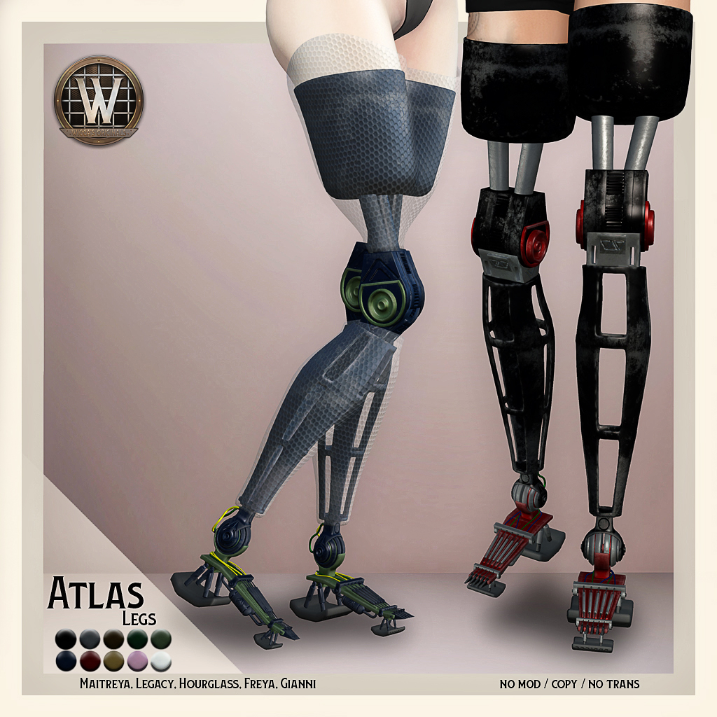 Wicca's Originals - Atlas Legs Vendor[39