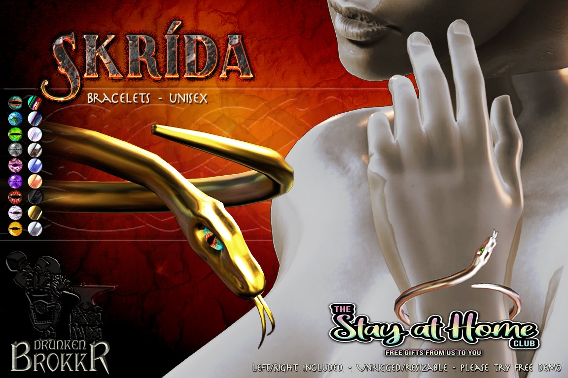 Drunken Brokkr - Skrida Bracelet
