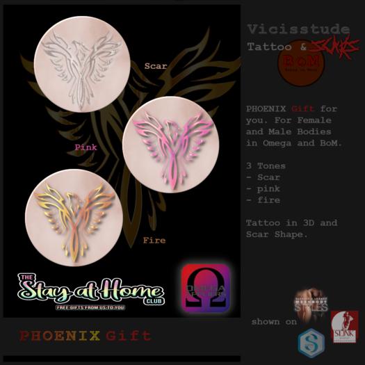 Vicissitude - Phoenix Tattoo