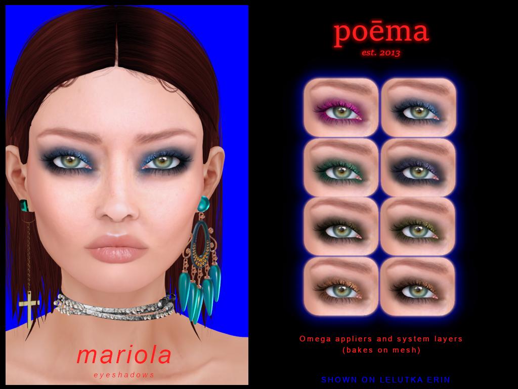Poema - Mariola Eyeshadows