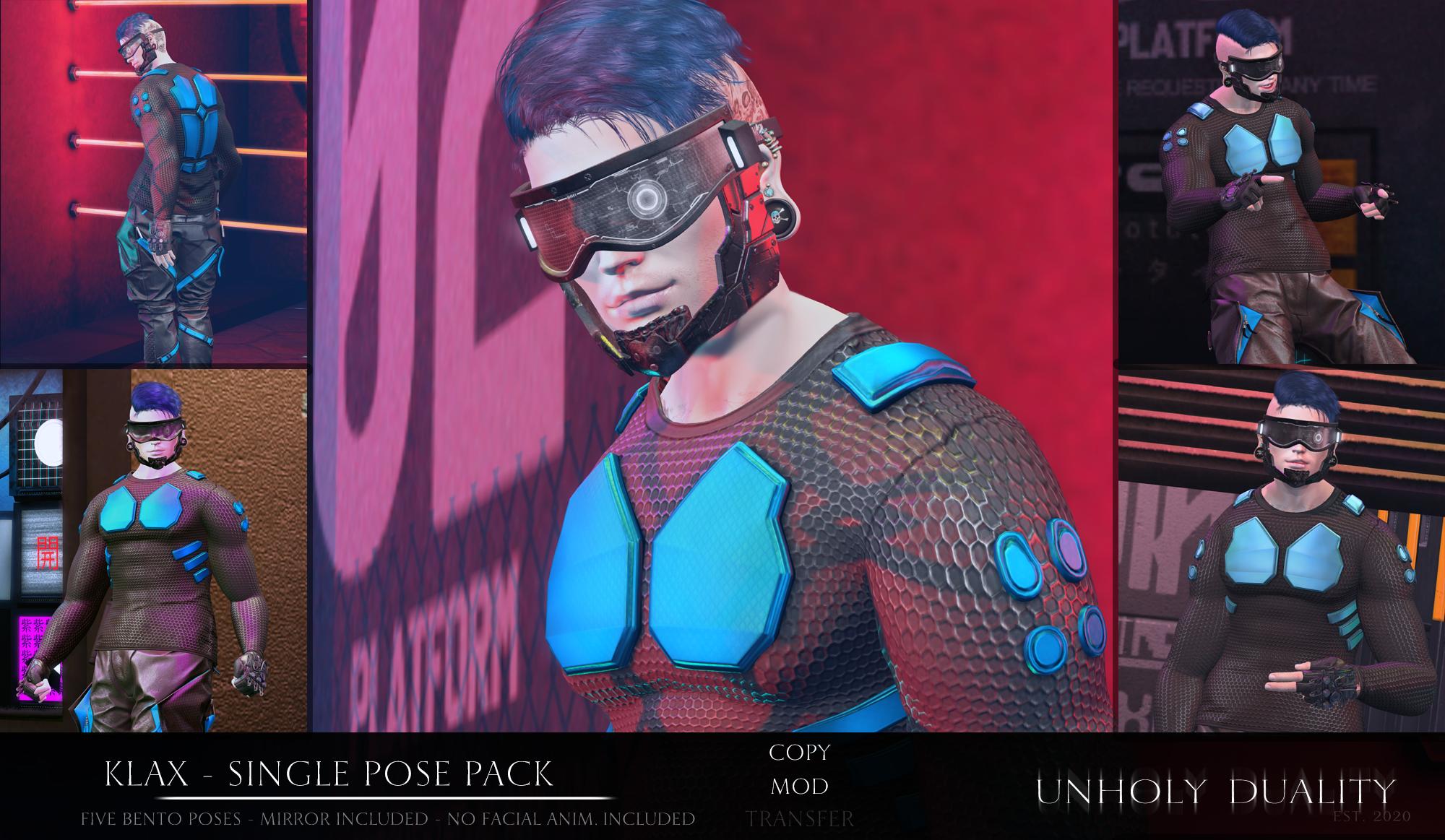 [UD] Klax - Pose Pack AD[3927]