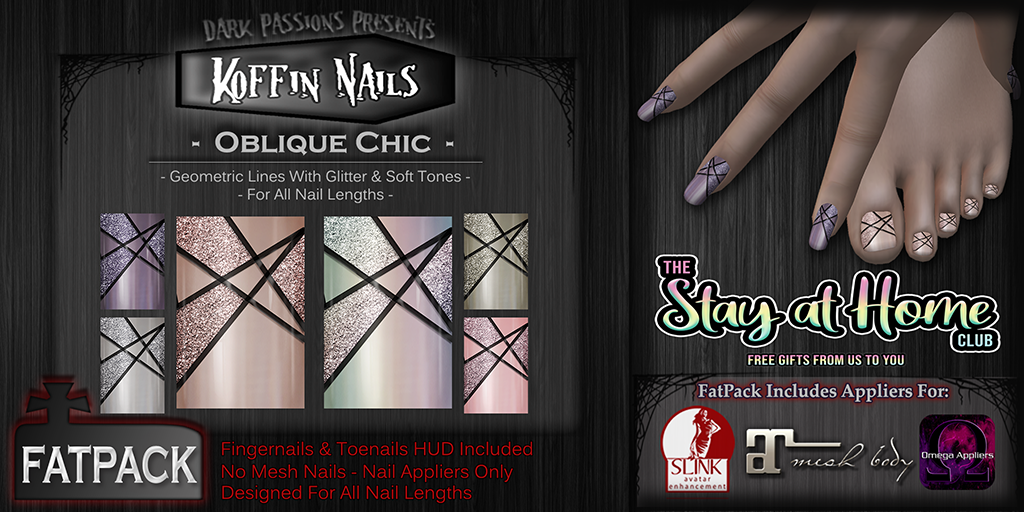 Dark Passions - Koffin Nails Fatpack