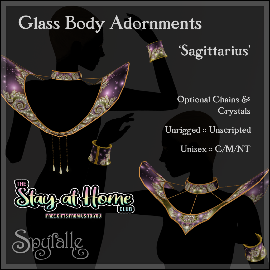 Spyralle - Glass Body Ornaments
