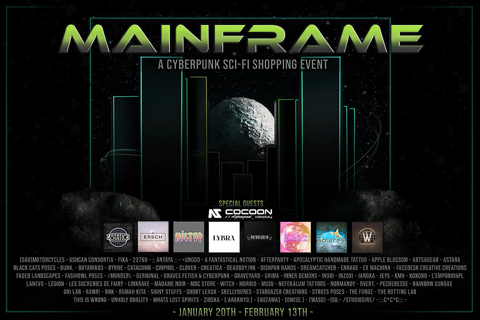 Mainframe - Jan 2021 - L'homme Advert V2