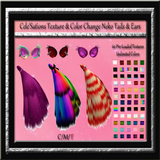 Cele' Sations - Neko Tails & Ears