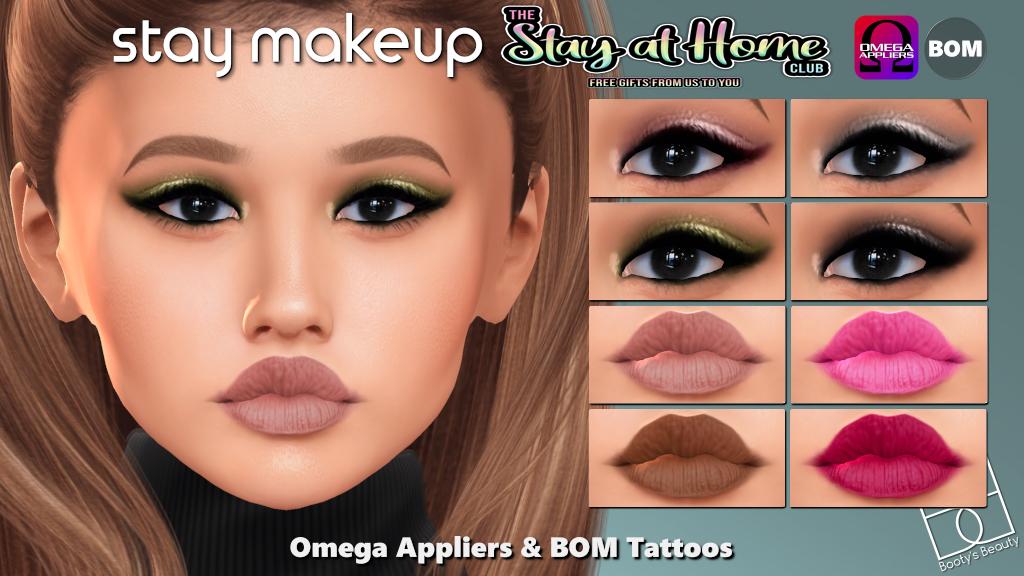 Booty's Beauty - Stay Makeup [BOM+Omega]