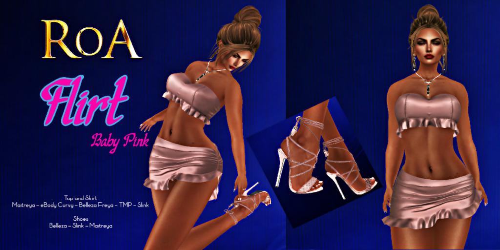 ROA Design - Flirt in Baby Pink
