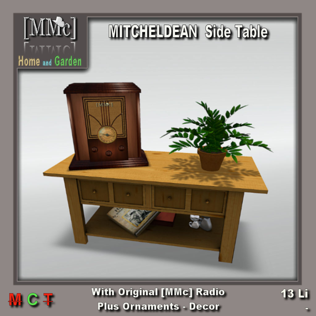 MMC - Mitcheldean Side Table + Ornaments