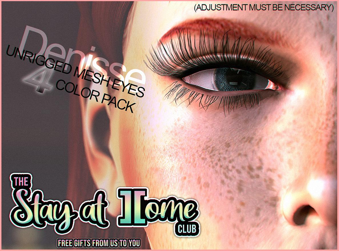 ][RONY - Denisse - Unrigged Mesh Eyes