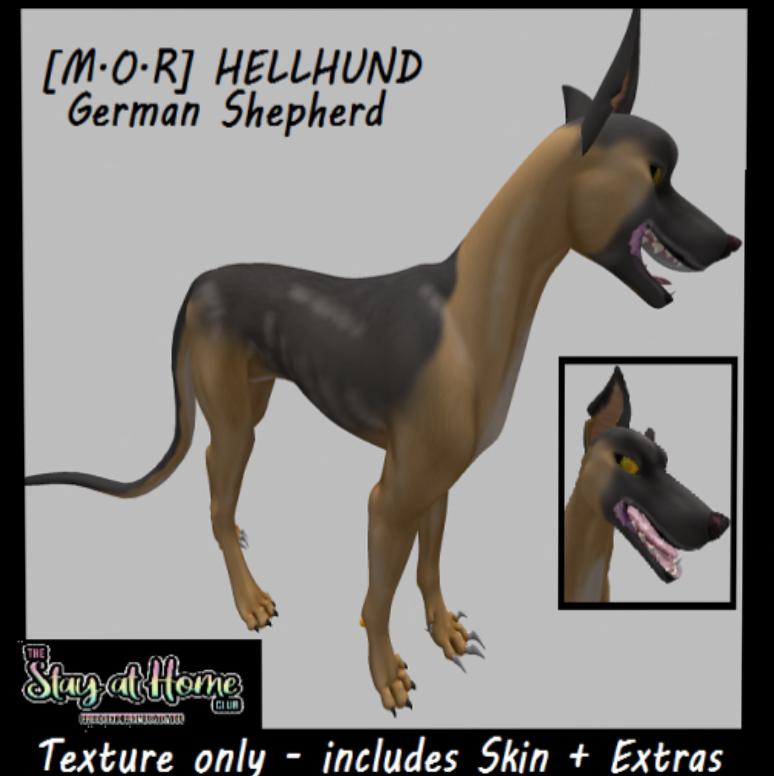 Multifarious Conceptions - [MOR] Hellhund German Shepherd Skin + Extras