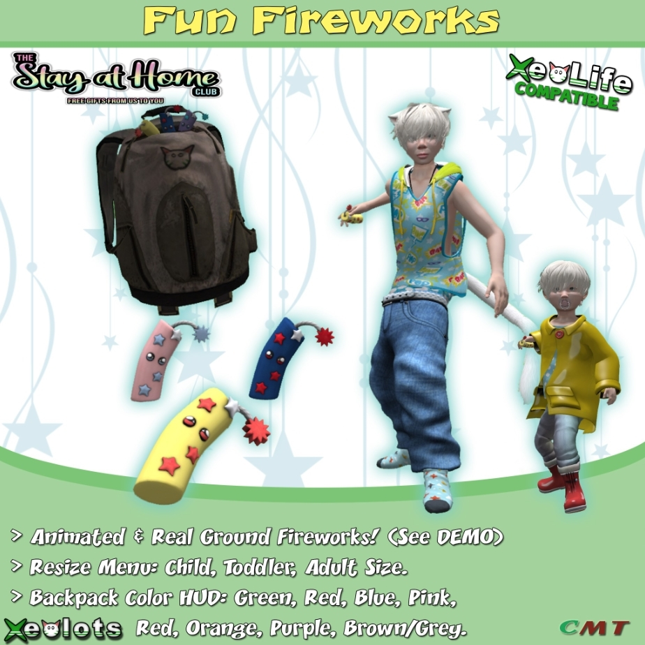 ** Xeolots ** - Fun Fireworks [all ages]