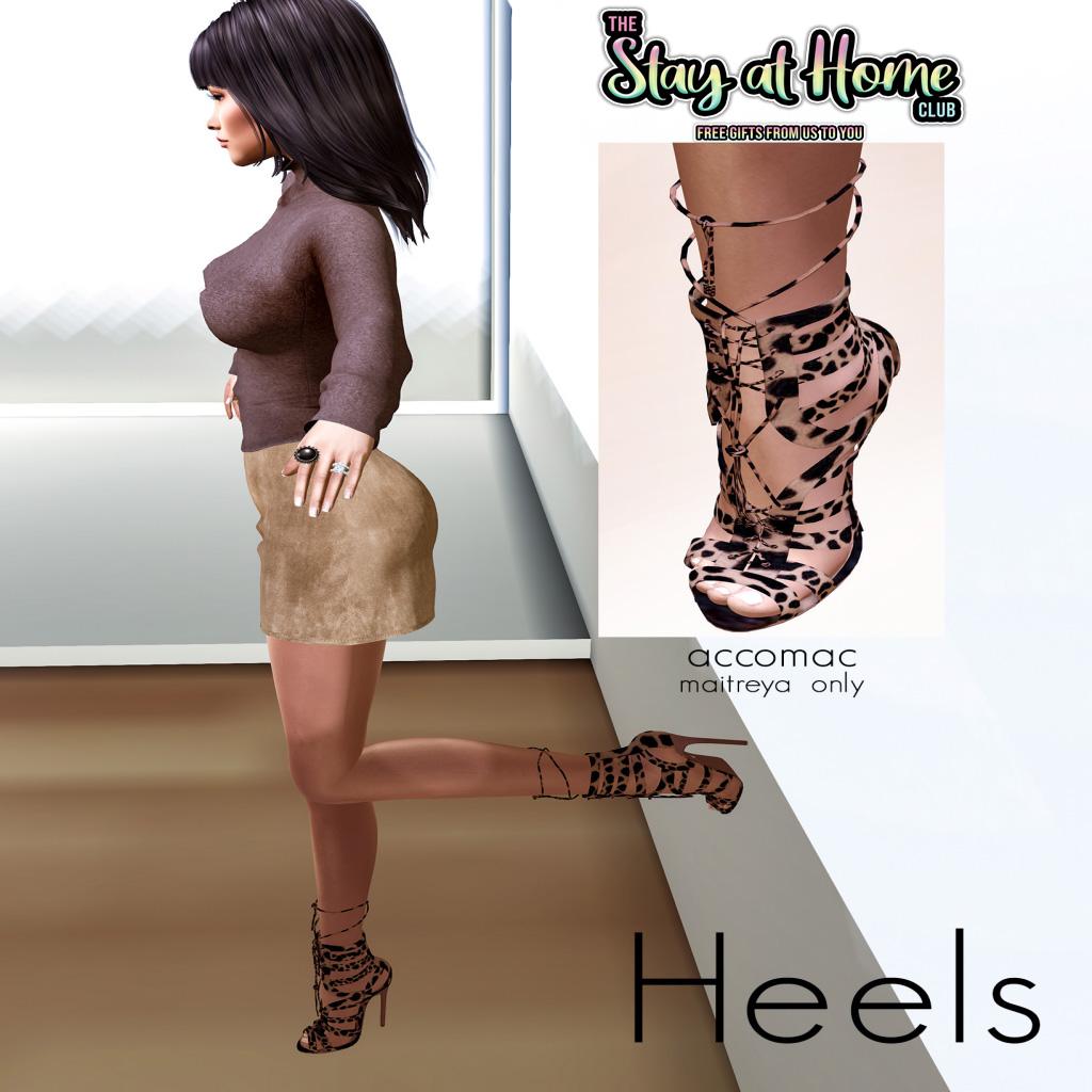 Heels - Accomac Cheetah Heels