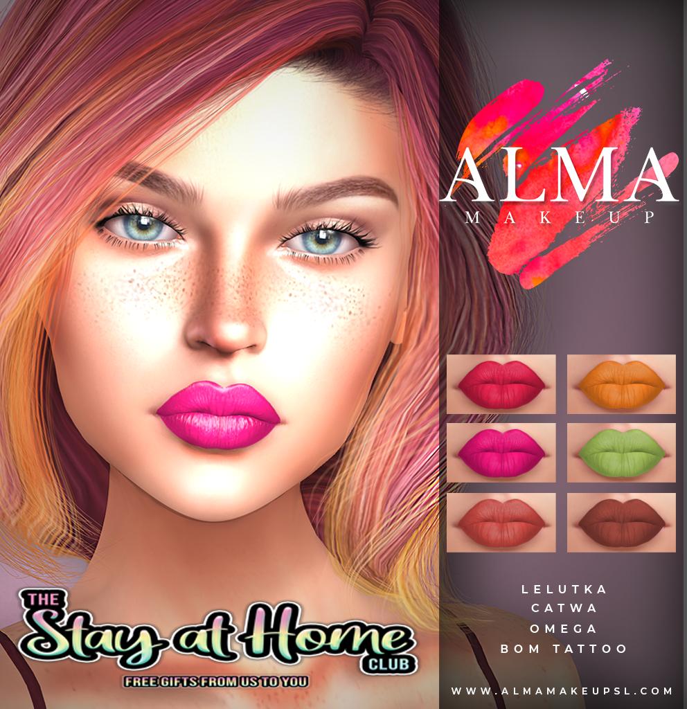 Alma Makeup - Lipstick