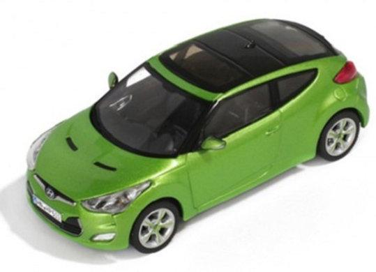 HYUNDAI Veloster 2012 Green -Premium X D271