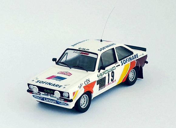 Ford Escort Mk2 - Rally of Portugal 1982: Mário Silva / Rui Bevilacqua