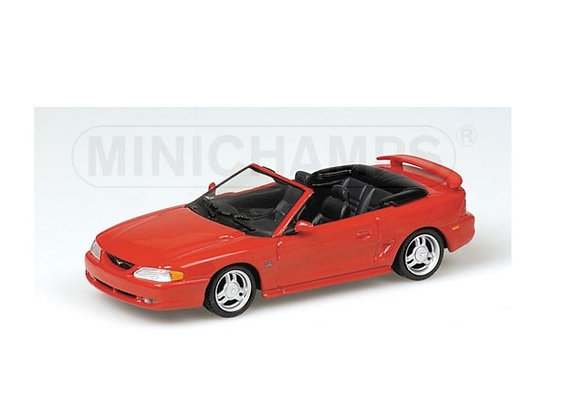 FORD MUSTANG CABRIOLET RED 1994