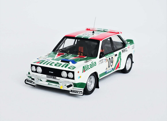 RRci04Fiat 131 Abarth - Bandama Rally 1978: Jean Vinatier / Jean-François Jacob