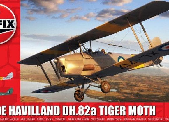 AIRFIX DE HAVILLAND DH 82A TIGER MOTH 1/72