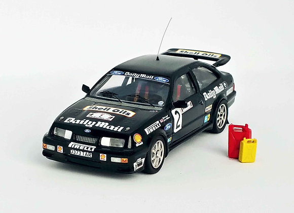 Ford Sierra RS Cosworth Mark Lovell 10th Audi Sport Rally 87