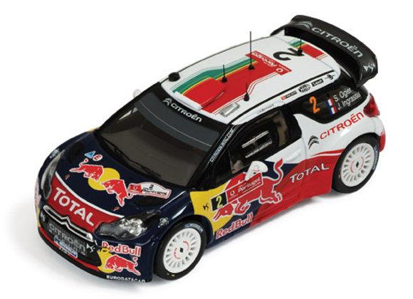 CITROEN DS3 WRC #2 S.Ogier - Winner Rally Portugal 2011