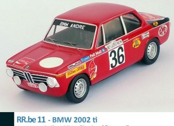 "BMW 2002 ti - 1st Ypres Rally 1971: ""Pedro""/ ""Jimmy"""