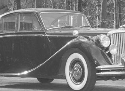 Jaguar MK V 3.5 Litre DHC Convertible, black, 1950