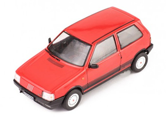 Fiat Uno Turbo IE, red, 1984