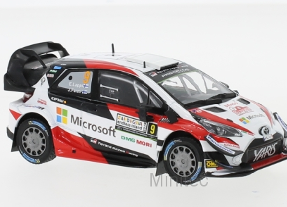 Toyota Yaris WRC, No.9,Rallye Italy, E.Lappi/J.Ferm, 2018