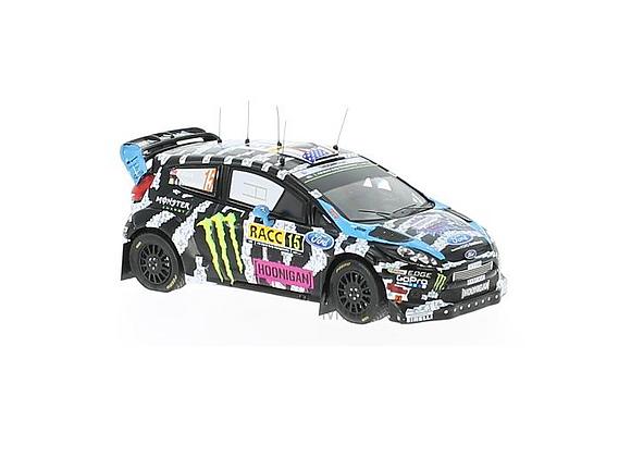 Ford Fiesta RS WRC #15 Ken Block/A.Gelsomino Rally Catalunya 2014
