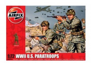 AIRFIX WWII US PARATROOPS 1/72