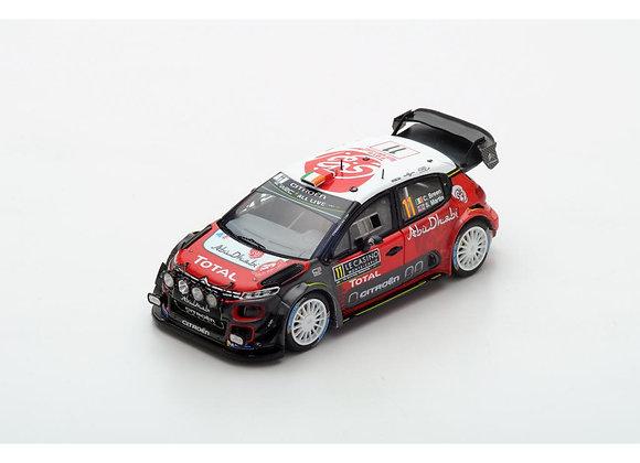 Citroën C3 WRC No.11 Craig Breen Rally Monte Carlo 2018