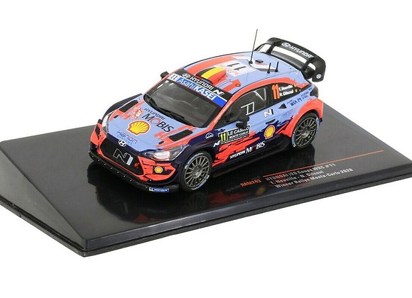 Hyundai i20 Coupe WRC N.11 R.Monte Carlo T.Neuville/N.Gilsoul 2020 - IXORAM743