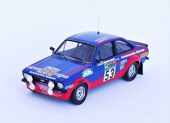 Ford Escort Mk2 - 20th RAC Rally 1977: Reinhard Hainbach / Peter Linze