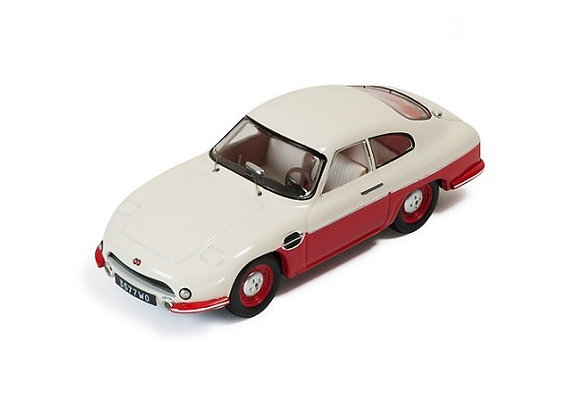 DB PANHARD HBR5 (closed lights) 1957 Beige and Red