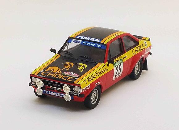 RRal89Ford Escort Mk2 -  Rally of Portugal 1978: Giovani Salvi / Zé Matrículas