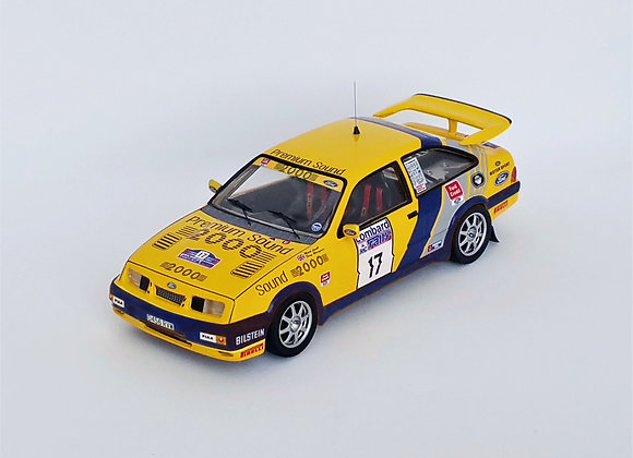 FORD SIERRA RS COSWORTH 17TH RAC RALLY 88 M.LOVELL