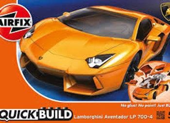 AIRFIX QUICK BUILD LAMBORGHINI AVENTADOR
