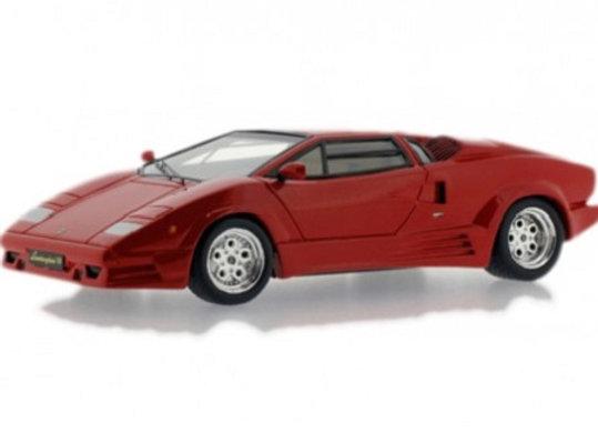LAMBORGHINI COUNTACH 25th ANNIVERSARY 1989 Red - Premium X 0186