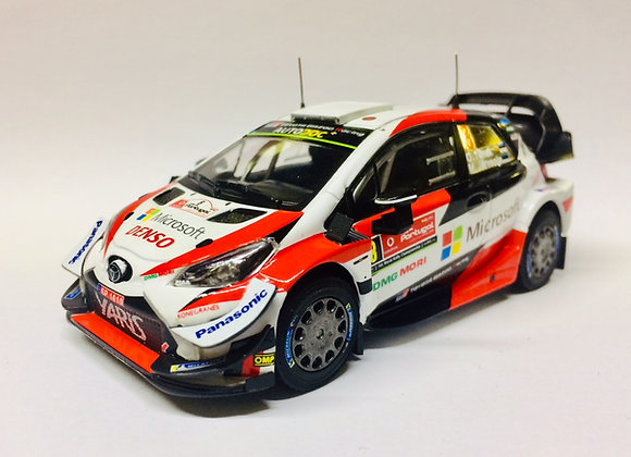 TOYOTA Yaris WRC N°8 Winner R. Portugal 2019 O. Tänak