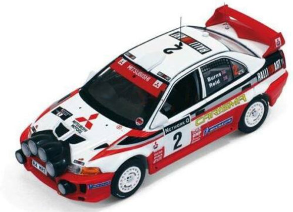 Mitsubishi Carisma GT 1998 Rally GB Winner - IXO RAM522