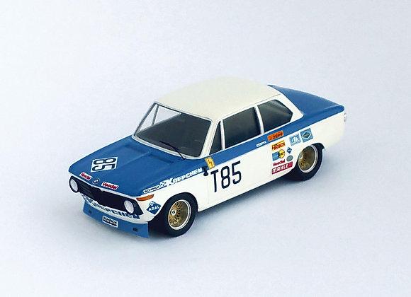 BMW 2002 ti - 1st T2 1000 Km Nürburgring 1973: H. Kelleners / T. Pilet