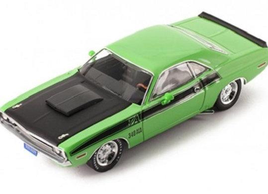 Dodge Challenger T/A green/black 1970