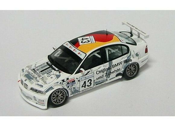 BMW 320 #43 DIRK MUELLER ETCC 2002
